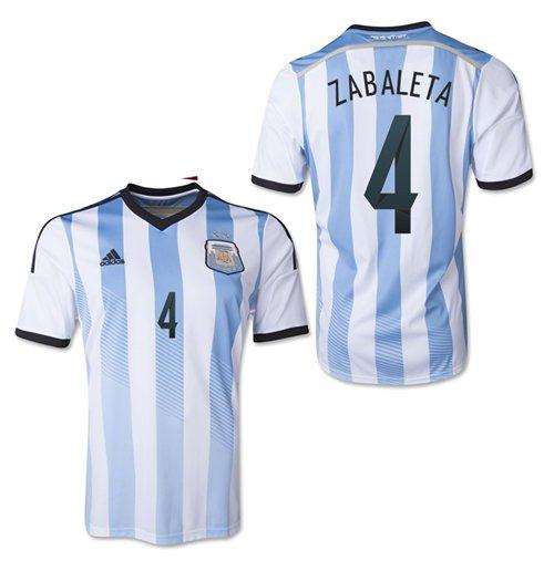 9f0103b4a3 Compra Camiseta Argentina 2014-2015 Home (Zabaleta 4) Original