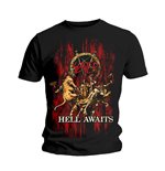 Camiseta Slayer de homem - Design: Hell Awaits