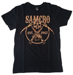 Camiseta Sons of Anarchy SAMCRO Chained
