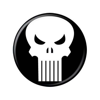 Broche The punisher