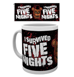 Caneca Five Nights at Freddy's - I Survived