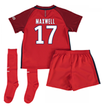 Mini conjunto Paris Saint-Germain 2016-2017 Away (Maxwell 17)
