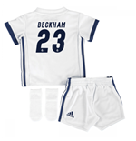Mini conjunto Real Madrid 2016-2017 Home (Beckham 23)