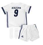 Mini conjunto Real Madrid 2016-2017 Home (Benzema 9)