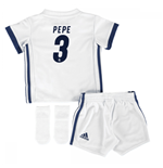 Mini conjunto Real Madrid 2016-2017 Home (Pepe 3)