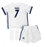 Mini conjunto Real Madrid 2016-2017 Home (Raul 7)