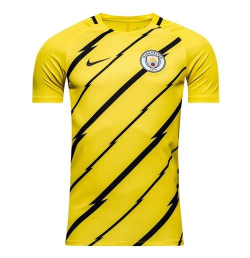 Compra Camiseta treinamento Manchester City FC 2016-2017 (Amarelo) 125fc44eb508c