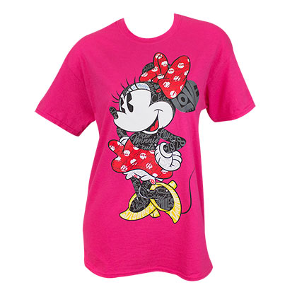 Camiseta Minnie de mulher