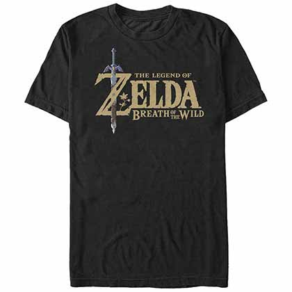 Camiseta The Legend of Zelda Breath Logo
