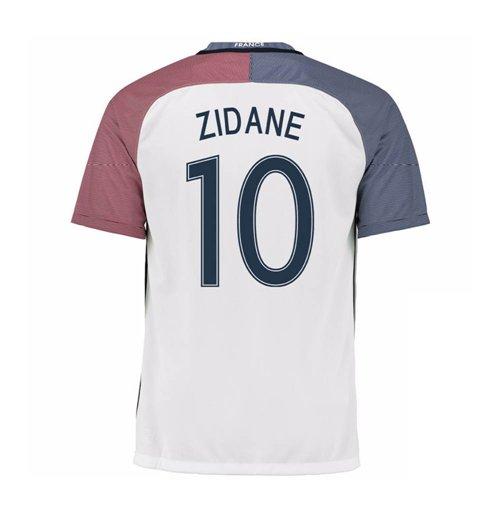 Compra Camiseta França Futebol 2016-2017 Away (Zidane 10) Original 1bb60fb6c22ee