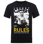 Camiseta Johnny Cash 261376