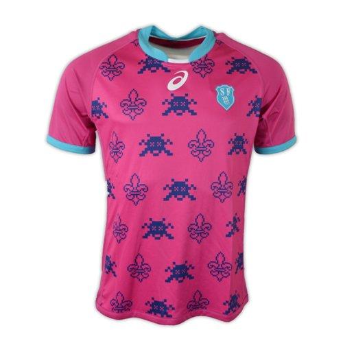 70f53604eb Compra Camiseta Stade frança Paris rugby 2016-2017 Away Original