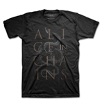 Camiseta Alice in Chains - Snakes Black
