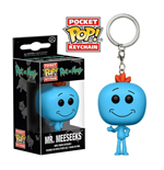 Rick y Morty Chaveiro Pocket POP! Vinyl Mr. Meeseeks 4 cm