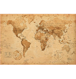 Poster World map 262127