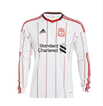 Camiseta manga comprida Liverpool FC 2010-2011 Away