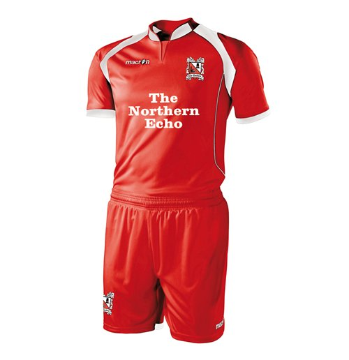 Camiseta Darlington 2012-2013 Away