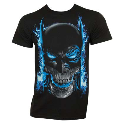 Camiseta Batman Blue Flame