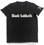 Camiseta Black Sabbath de homem - Design: Logo & Daemon