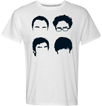 Camiseta Big Bang Theory - Faces