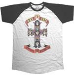 Camiseta Guns N' Roses de homem - Design: Appetite for Destruction