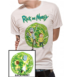 Camiseta Rick and Morty - Portal Back Print