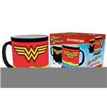 Wonder Woman Caneca sensitiva ao calor Costume