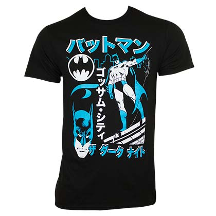Camiseta Batman Kanji Japanese