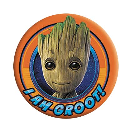 Broche Guardians of the Galaxy Groot Orange