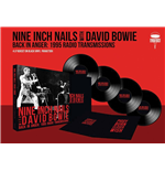 Vinil Nine Inch Nails With David Bowie - Back In Anger - The 1995 Radio Transmissions - St Louis, Mo 1995 (4 Lp)