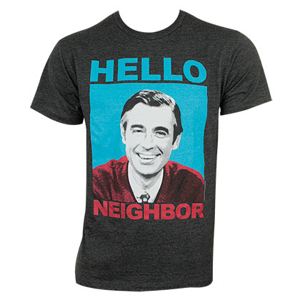 Camiseta Mister Rogers' Neighborhood de homem