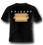 Camiseta Friends - Logo And Sofa