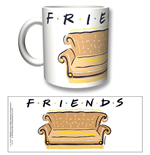 Caneca Friends - Logo And Sofa
