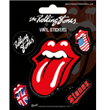 Pack adesivo The Rolling Stones - Tongue - 12,5X10 Cm