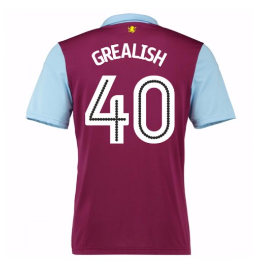 Camiseta Aston Villa 2016-2017 Home