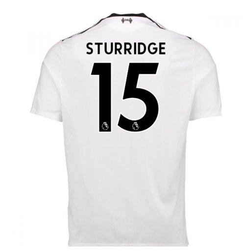 eb26f4b40e Compra Camiseta 2017 18 Liverpool FC 2017-2018 Away (Sturridge 15)