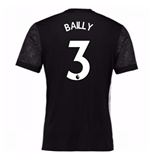 Camiseta 2017/18 Manchester United FC 2017-2018 Away (Bailly 3)