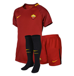Conjunto 2017/18  AS Roma Home de bebê