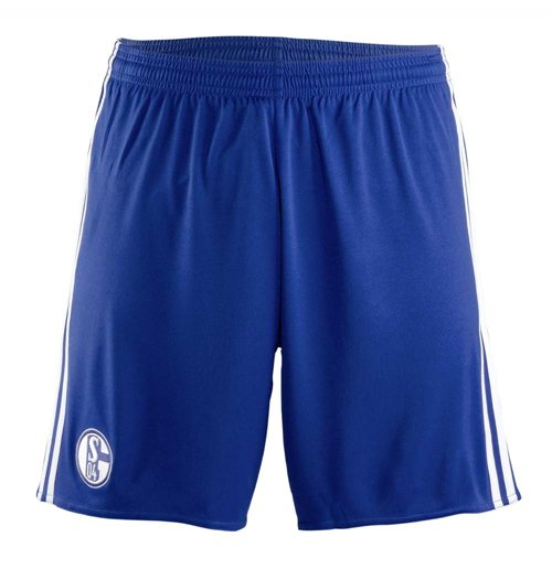 Shorts Schalke 04 2017-2018 Away (Azul escuro)