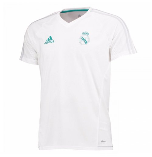 Camiseta Real Madrid 2017-2018 (Branco)