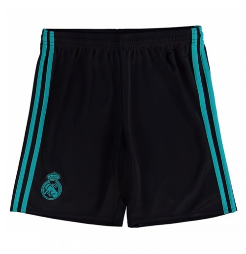 Shorts Real Madrid 2017-2018 Away (Preto)