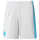 Shorts Olympique Marseille 2017-2018 Home (Branco)