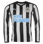 Camiseta manga comprida Newcastle 2017-2018 Home