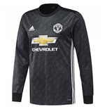 Camiseta manga comprida Manchester United FC 2017-2018 Away
