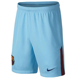 Shorts Barcelona 2017-2018 Away (Azul escuro)