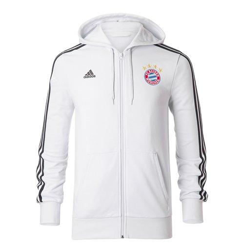 Compra Moletom Bayern de Munich 2017-2018 (Branco) Original d755071517098