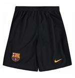 Shorts Barcelona 2017-2018 Home (Preto)