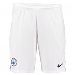 Shorts Manchester City FC 2017-2018 Home (Branco)
