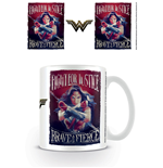 Wonder Woman Caneca Fight For Justice