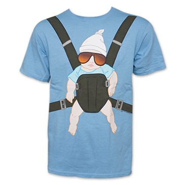 Camiseta The Hangover -  Baby Carrier